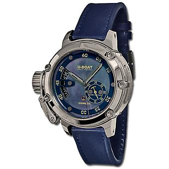 U-boat chimera Watch for Unisex Analog automatic Swiss with cowhide bracelet 8087