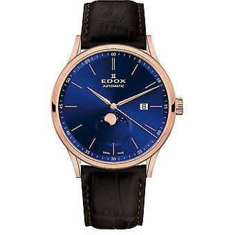 Edox - Wristwatch - Men - Les Vauberts - Automatic - 80500 37R BUIR