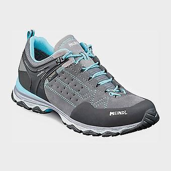 Meindl Women's Ontario GORE-TEX Walking Shoes Grey/Blue