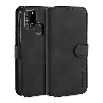 Gd. MING Wallet Case Samsung Galaxy A21s - Schwarz