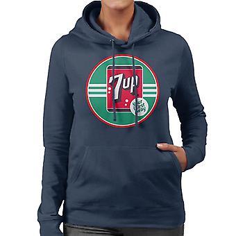 7up 40s Logo Your Thirst Away Women's Hooded Sweatshirt