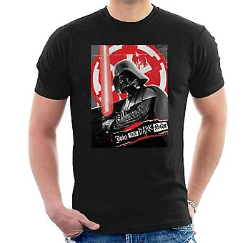 Star Wars unirse a the Dark Side Men's camiseta
