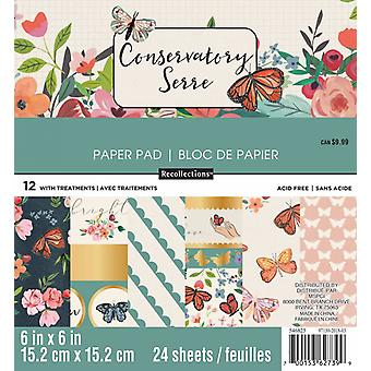 Craft Smith Conservatory 6x6 Inch Paper Pad