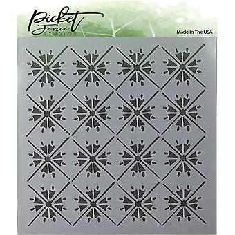 Picket Fence Studios Moroccan Tiles Stencil