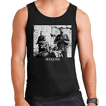 Mayans M.C. Motorcycle Club Ezekiel Reyes EZ Angel Reyes Men's Vest