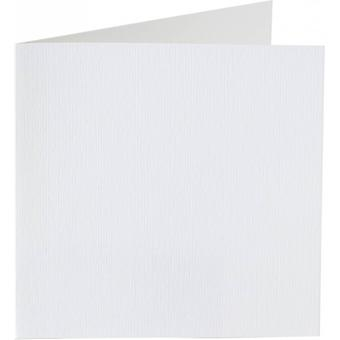 Papicolor 6X Double Card 132X132mm Pearly-White