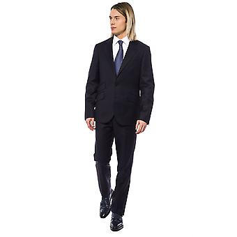 Miljardair Italiaanse Couture Blu Navy Suit - BI99956336