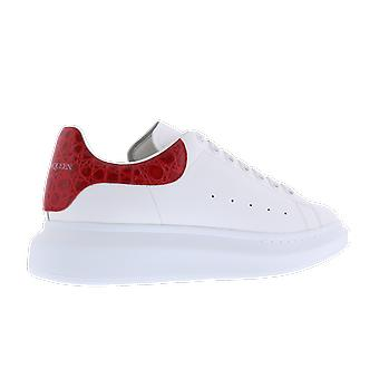 Alexander McQueen Sneake Leath S.Rubb. Larr White 625162WHYB89676 chaussure