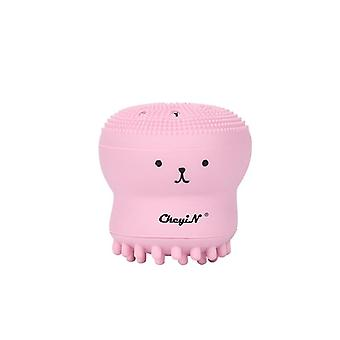 Lady face cleansing brush deep cleaning facial cleanser