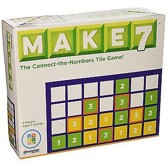 Games - Pressman Toy - Make 7 New 4597-06
