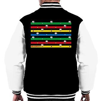 Hello Kitty Multicoloured Montage Men's Varsity Jacket