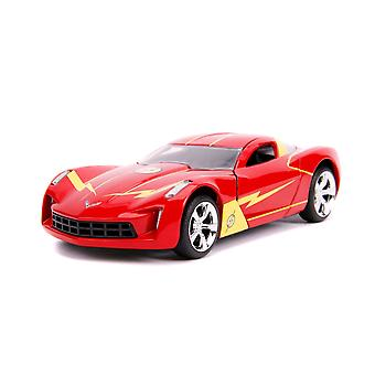 Flash Chevy Corvette Stingray 2009 1:32 Schaal Hollywood Ride