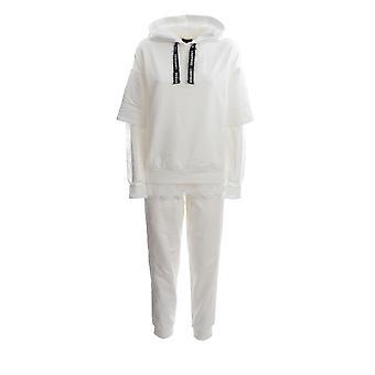 Ermanno Scervino Fl01fel249 Women's White Cotton Jumpsuit