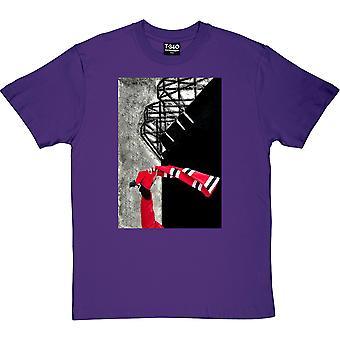 Hadrian Richards United Bar Huivi Purple Miehet's T-paita