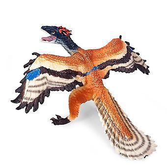 عالية المحاكاة Archaeopteryx ديناصور نموذج مكتب ديكور لعبة أطفال - نموذج التنين