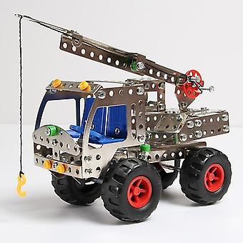 DIY هندسة المعادن سلسلة السيارات تجميع كتل البناء - التعليمية