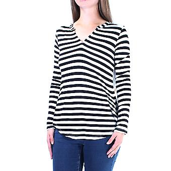 Maison Jules | V-Neck Striped Pullover