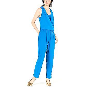 Bar III | Wrap-Top Sleeveless Jumpsuit