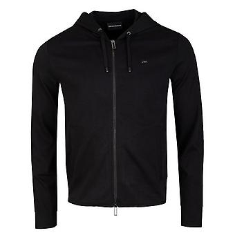 Armani Metal EA Zip Through Hooded Track Top