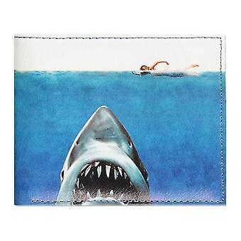 Universal Jaws Movie Poster Print Bi-fold Wallet Male Multi-colour (MW552406JAW)