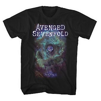 Avenged Sevenfold Space Face T shirt