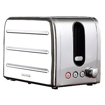 Daewoo Deauville 2 Scheibe Edelstahl Toaster
