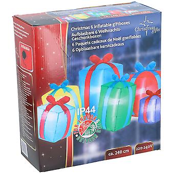 Decoratie Geschenken Opblaasbare LED 240cm opblaasbare decoratie kerstpolare kerst met motor blow up