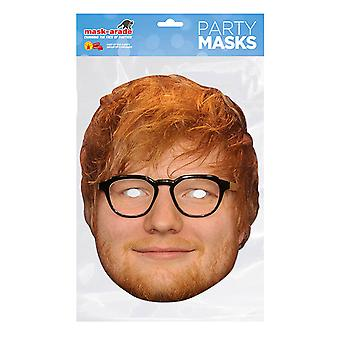 Mask-arade Ed Sheeran Celebrities Party Face Mask