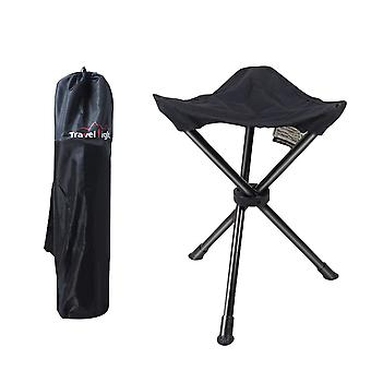 Homemiyn Outdoor Three-legged Folding Stool Outdoor Picnic  Fishing Folding Stool