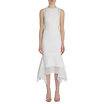 Opening Ceremony W17tco151381000 Women's White Nylon Dress