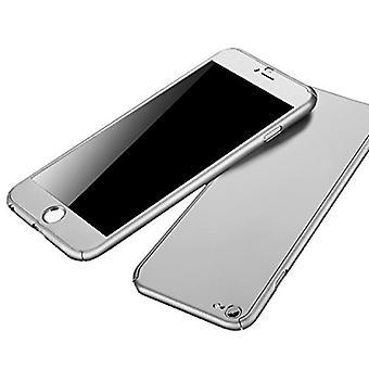 Stoff zertifiziert® iPhone 8 Plus 360 ° Full Cover - Ganzkörper-Gehäuse - Bildschirmschutz Weiß