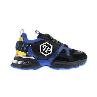 Philipp Plein Runner Hexagon Blue MSC2868PXV001N0809 shoe
