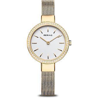 Bering naisten kello Classic kulta kiiltävä 16831-334