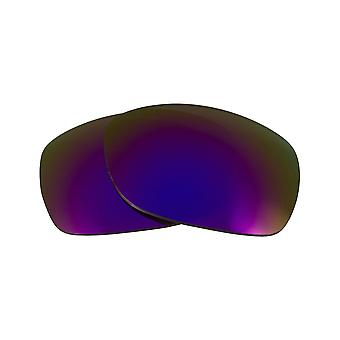 Polarized Replacement Lenses for Oakley Sideways Sunglasses Anti-Scratch Purple
