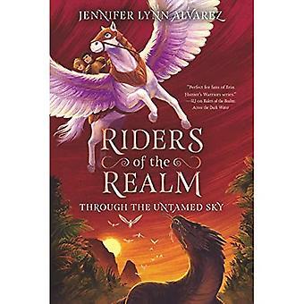 Jezdci z říše #2: přes Untamed oblohou (jezdci říše)