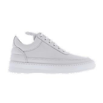 Filling Pieces Low Top Plain Lane Nubuck White 29726291901 shoe
