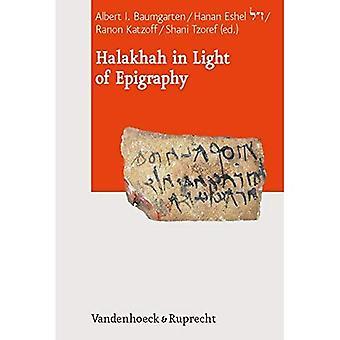 Halakhah in Licht van Epigrafie