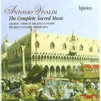 A. Vivaldi - Antonio Vivaldi: The Complete Sacred Music [CD] USA import