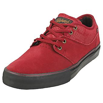 Globe Mahalo Mens Casual Trainers in Wine
