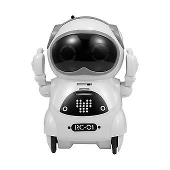 Rc Robot Pocket Inteligent Interactive Talking, Recunoaștere vocală, Record,