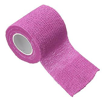 Adhesive Elastic Bandage Colorful Sport Tape, Emergency First Aid Tool