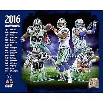 Dallas Cowboys 2016 Team Composite