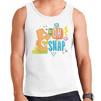 Care Bears Friend Bear Oh Snap Men's Vest