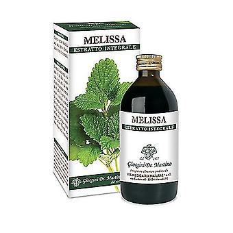 MELISSA ESTRATTO INTEGR 200ML 200 ml