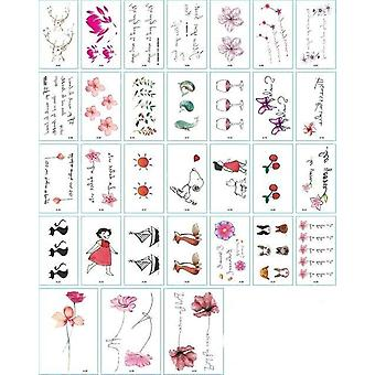 Waterproof Temporary Tattoo Stickers