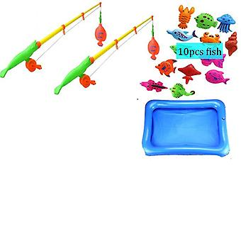 Magnetic Parent-child Interactive Fishing- Pool Water Bath