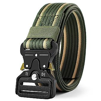 Men's Tactical Military Belts Heavy Duty Army Verstelbare Nylon Belt