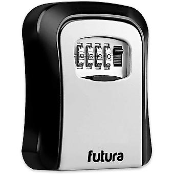 Futura 4 Digit Combination Key Safe Wall Mounted Lock Box - Stockage de clé de rechange