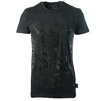 Philipp Plein Sinds 1978 Large Skull Logo Zwart T-shirt