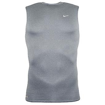 Nike Mens Pro Vent Tank Top Gym Running Sports Top Grey 128928 075